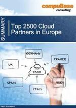 Etude des Top 2500 Cloud partenaires en Europe